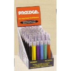 Prodejní stojan obsahující 36 skalpelů č.40 - s plastovou násadkou ve tvaru pera
