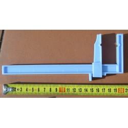 Plastová svěrka velká - 50 mm dlouhé čelisti, maximální rozevření 180 mm, 2 ks