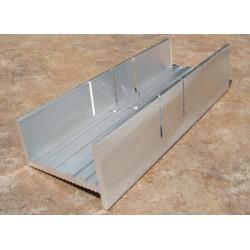 Pokosový přípravek pro kolmé a šikmé (45°) přesné řezání, hliníkový