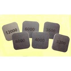 Brusné polštářky oboustranné - hrubost 12000, 2 ks