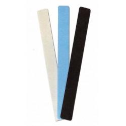 Brusné pilníky - výběr (po 1 ks od každé hrubosti, celkem 3 ks)