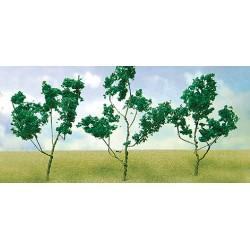 větve, křoví, podrost - zeleň tmavá, výška 4 - 8 cm, 60 ks