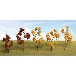 větve, křoví, podrost - podzimní směs žlutočervená, výška 4 - 8 cm, 60 ks