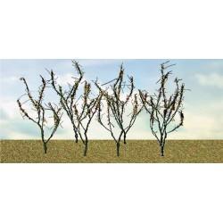 větve, křoví, podrost - suché křoví, výška 4 - 8 cm, 60 ks