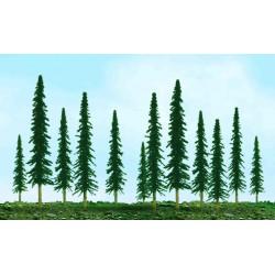 konifer úsporný, výška 2.5 - 5 cm, 55 ks