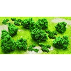 chomáče listoví (pro modelování podrostu a keřů) o1 - 2.5 cm, 55 ks